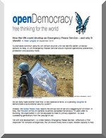 How the UN could develop an Emergency Peace Service OD 09 2016
