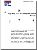 Preparing for a UN Emergency Peace Service